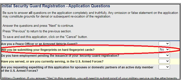 How To Get A Ca State Guard Card