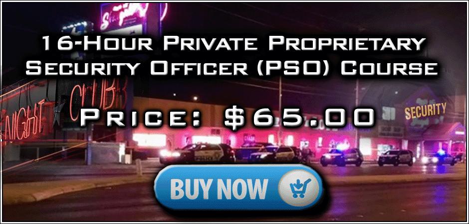 GuardCardCourses com 16-Hour PSO BSIS Approved PSO Online