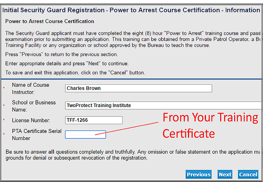 How To Get A Guard Card Three Simple Steps Guardcardcourses